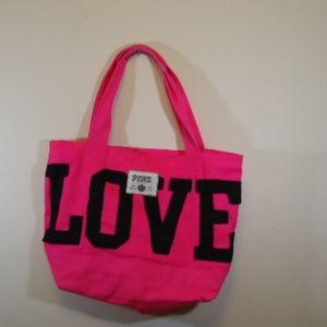 Victoria Secret Tote with bonus make up bag